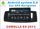 Nuovo video dell'automobile del Android 6.0 di Ui per il Corolla ex 2013 con percorso di GPS dell'automobile