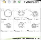 Dissipatore di calore di alluminio di profilo del rivestimento della polvere
