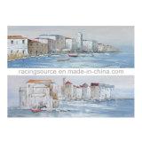 벽 예술을%s 화포 유화를 인쇄하는 바다 조경 화포