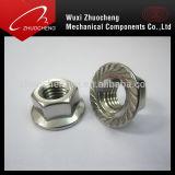 Noix Hex galvanisée de bride de SUS de DIN6923 A2 A4
