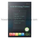 panneau d'écriture sans papier d'affichage à cristaux liquides de bloc-notes de dessins de retrait de 8.5-Inch Digitals