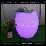 LED de plástico club nocturno Sofá de la boda silla de sofá de luz con BV