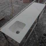 Countertop кухни Atificial мраморный акриловый каменный твердый поверхностный (C1709163)
