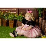 bébé rené de silicones de vinyle de 60cm - jouet de Chambre de jeu d'heure du coucher de jouet de poupée