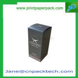 Напечатанная таможней коробка подарка дух косметическая упаковывая бумажная