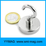 Forte tenue Force Neodymium Nickel Coating Magnetic Hooks
