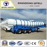 45000L 5 compartiments Palm Oil Tanker semi-remorque de réservoir de carburant pour Phipplines