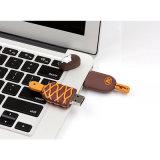 Mecanismo impulsor del flash del USB de los bocados del mecanismo impulsor de la pluma del helado del PVC del Popsicle