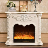 Antique Home Furniture Heating 3D Electric Fireplace with LED (338)