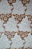 자수 패턴을%s 가진 우아한 폴리에스테 레이스 직물