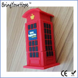 전화 박스 디자인 USB 섬광 드라이브 (XH-USB-161)