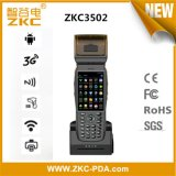 Handheld лазер PDA черни радиотелеграфа GPRS Android с передвижным принтером