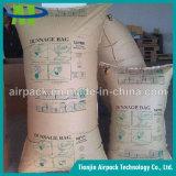 Impermeable y Wetproof marrón Kraft papel inflador Dunnage bolsa de aire OEM