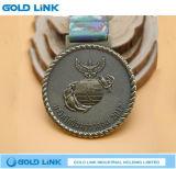 カスタムメダル金属は軍隊軍メダル記念品の円形浮彫りを制作する