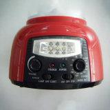 Lâmpada Emergency recarregável portátil do diodo emissor de luz com função de FM