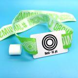 Wristband tessuto RFID del E-biglietto ICODE SLIX di evento