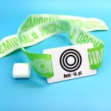 Langstrecken-E-Ticket-Event ICODE SLIX RFID-Gewebe Gewebtes Armband
