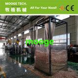 Residuos PE LDPE Película de estiramiento Línea de reciclaje de lavado de películas plásticas