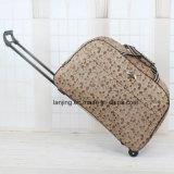 Carrinho de bagagem rolante saco com malas de grande capacidade