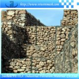 Maglia di Gabion che recinta per la costruzione di strada