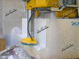 Coupe-bloc avec lame horizontale pour les dalles de marbre