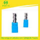De Snijders van de Molen van het Eind van het carbide 3 Snijders van de Molen van het Eind van het Aluminium van Fluiten