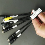 4 uit Kabel AV in+AV out+Video out+Audio in+DC12V
