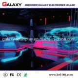 Schermo di vetro trasparente del quadro comandi della parete della finestra LED di colore completo video