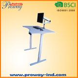 スマートなキーパッドが付いている高さの調節可能で永続的な机のスタンドアップ式ワークステーション