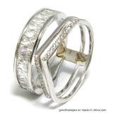 2017 de Nieuwe Zilveren Ring van het Ontwerp met Onregelmatige Vorm voor Amerikaanse Markt (R10599)