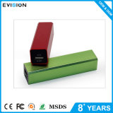 Regalo della Banca 2600mAh di potere verde di alta qualità