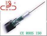 Центральной ослабленные трубки GYXTW Оптоволоконный кабель
