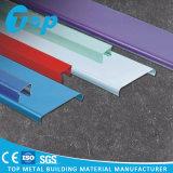 Clip en azulejos de aluminio perforados del techo con el techo de la tira de U