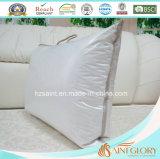 Роскошный белый крышку из чистого хлопка утку гуся вниз подушки