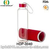 2016 de Nieuwe Fles van het Water van Juicer van de Citroen van het Glas van het Ontwerp, de Aangepaste Fles van het Water van het Glas BPA Vrije (hdp-0040)