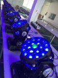 De professionele LEIDENE van Beye van het Stadium Verlichting die van het Stadium HoofdStraal bewegen