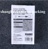 Pacote de caixa móvel para atacado Caixa de plástico plástica de PVC transparente para telefones celulares Samsung