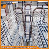 Planta de revestimento vertical do pó para o perfil de alumínio