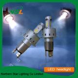 phares de la moto DEL de nécessaire de conversion de phare du véhicule DEL de 7p DEL