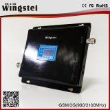 2018 Hot Sale 900/2100MHz Amplificateur de signal répétiteur de signal double bande noir 2g 3g répétiteur de signal