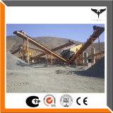 低い消費粉砕機の石灰岩のための移動式押しつぶす端末の石造りの生産ライン