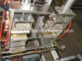 Doppelte Zeile 8mal, die den Rollenshirt-Beutel herstellt Maschine falten