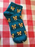 Calcetín personalizado del logotipo del OEM del muchacho joven
