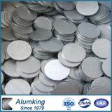5052/3003 espacio en blanco de aluminio del círculo para la señal de tráfico