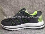 Les chaussures de sport de femmes et d'hommes pilotent des chaussures de chaussures de poids léger de Knit