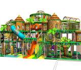 Спортивная площадка профессиональных джунглей занятности Cheer опирающийся на определённую тему крытая