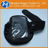 ホックおよびループ締める物伸縮性がある魔法テープ荷物ストラップ