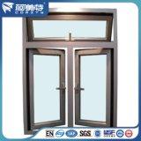 Profilo di alluminio anodizzato colore del metallo per la finestra di alluminio