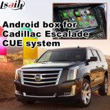 Android 4.4 навигационного GPS для Cadillac Escalade интерфейс Waze видео Youtube Play и т.д.