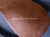 Cuoio classico di Microfiber di colore di tono due per il sofà